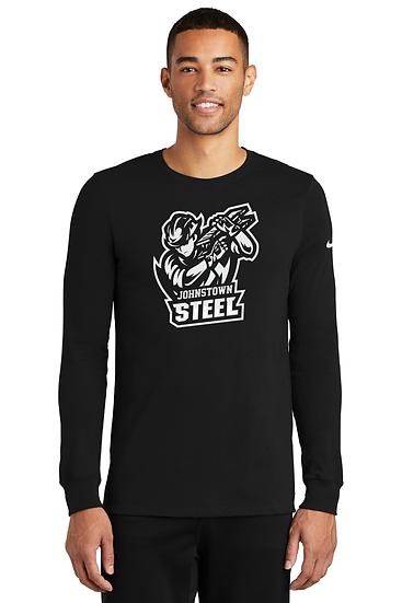 Johnstown Steel Nike Dri-FIT Cotton/Poly Long Sleeve Tee