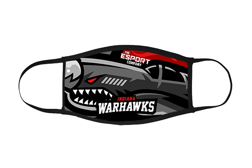 Indiana Warhawks Face Mask