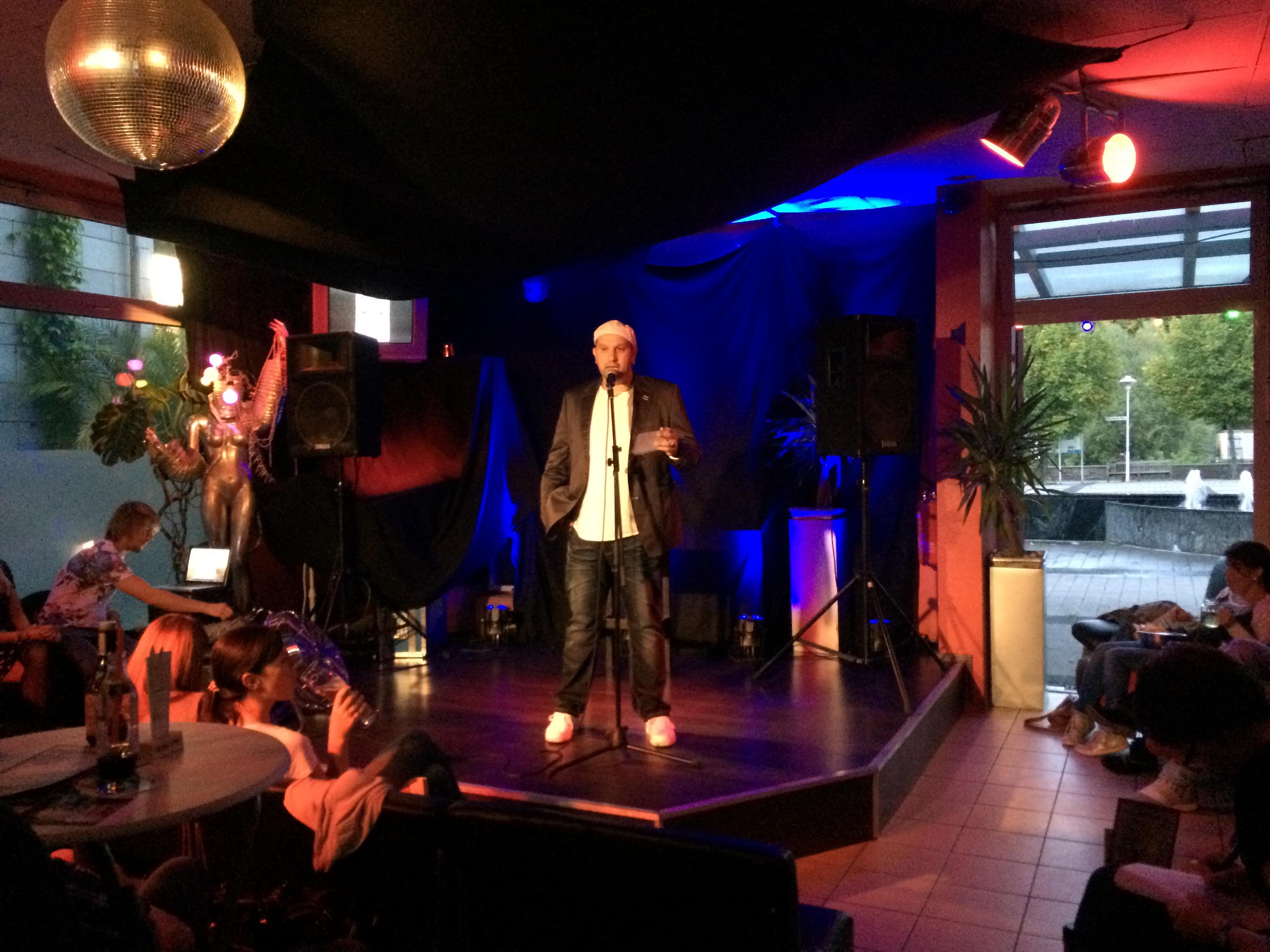 Naim Jerome Comedy Stand Up Backnang