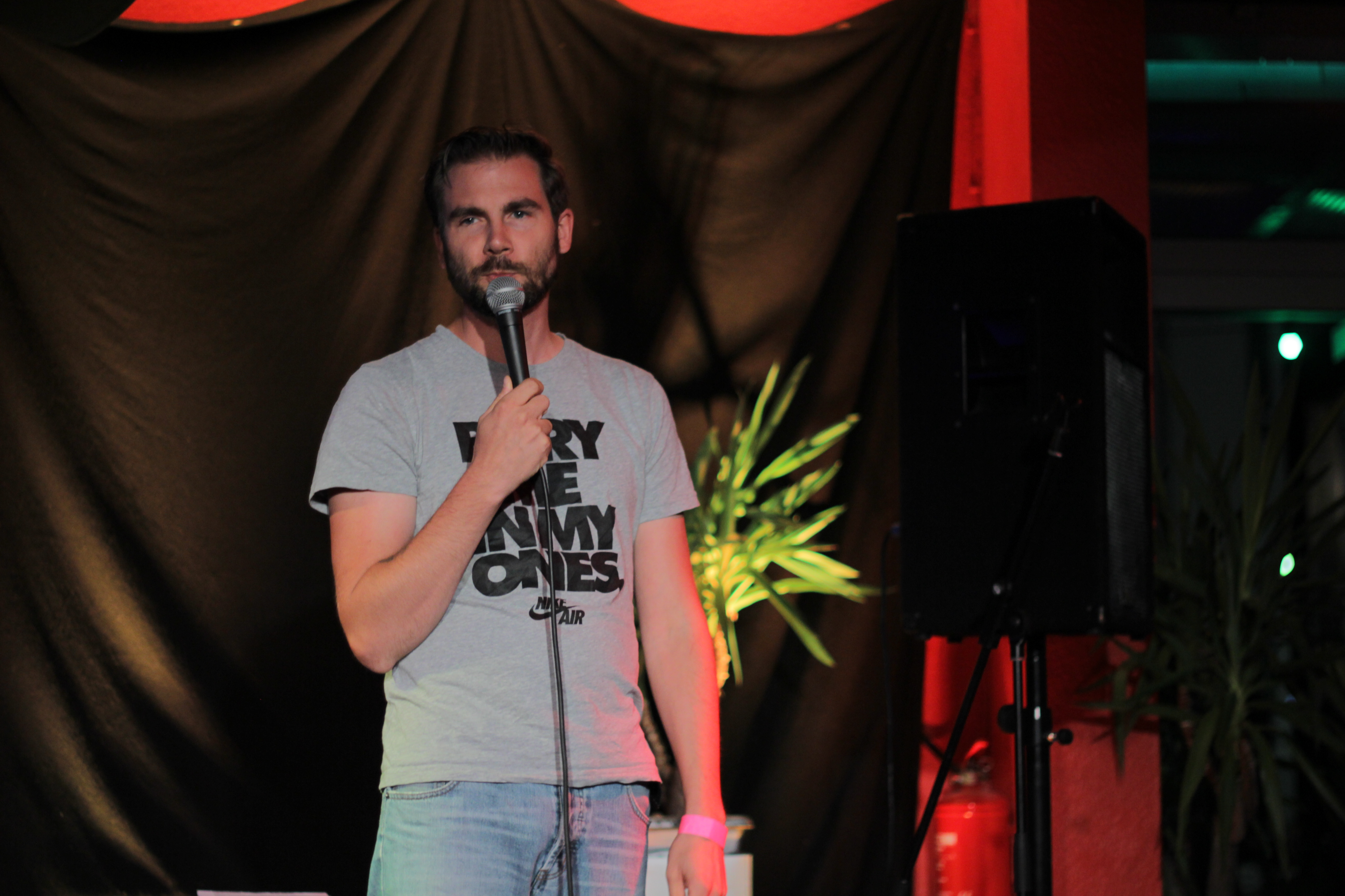 Jens Wienand Comedy Stand Up BK