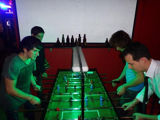 Tischkicker spielen dasWohnzimmer Backnang