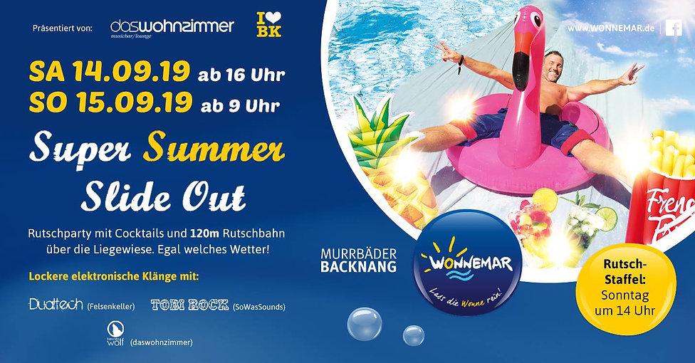 Super Summer Slide Out Wonnemar Backnang