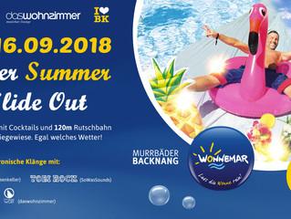 Super Summer Slide Out - Deine Rutschpart(y)ie im Backnanger Freibad