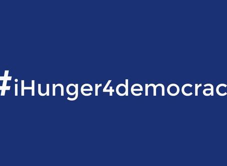 #iHunger4democracy