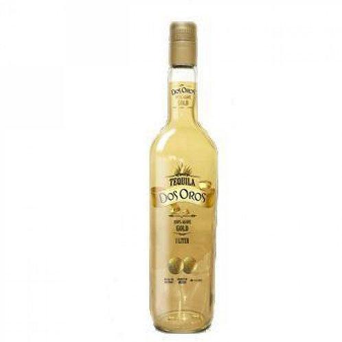 Tequila dos oros BCO 1L