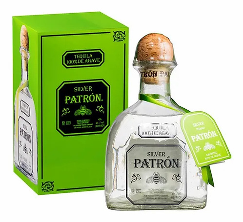 Tequila patron silver combo