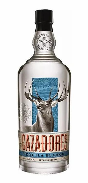 Tequila cazadores 1LT blanco