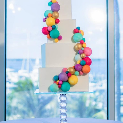 How to Display your Wedding Cake