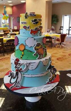 dr seuss baby shower cake
