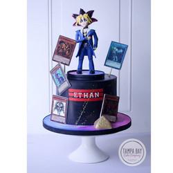 Yu-Gi-Oh Cake