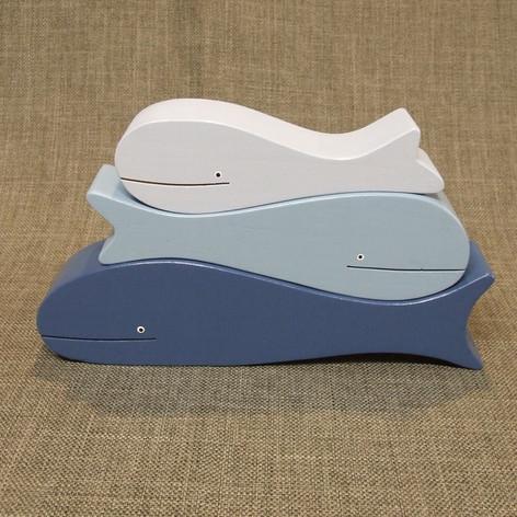 Toru Tohora / 3 Whales Stacker Set
