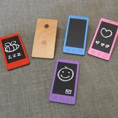 Smartphone Blackboard Toy