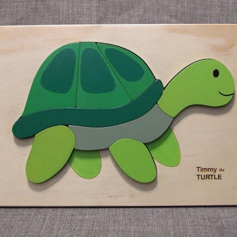 A4 Puzzle - Turtle