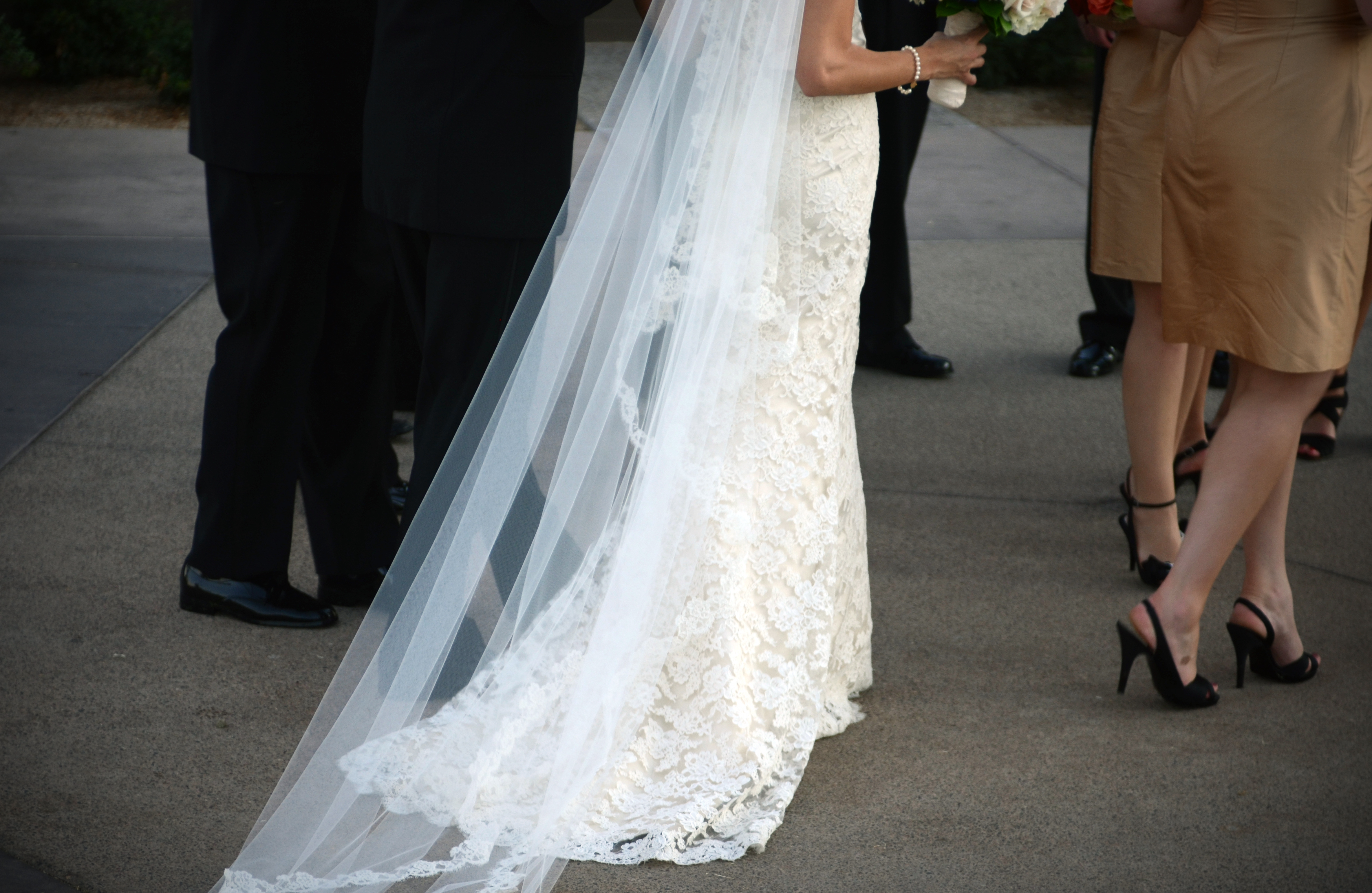 wedding dress colorado photo