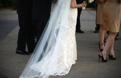 wedding dress colorado photo