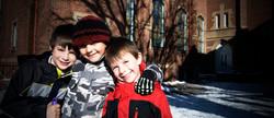 three brothers friends church