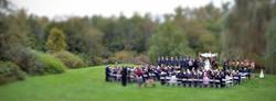 wedding in field colorado