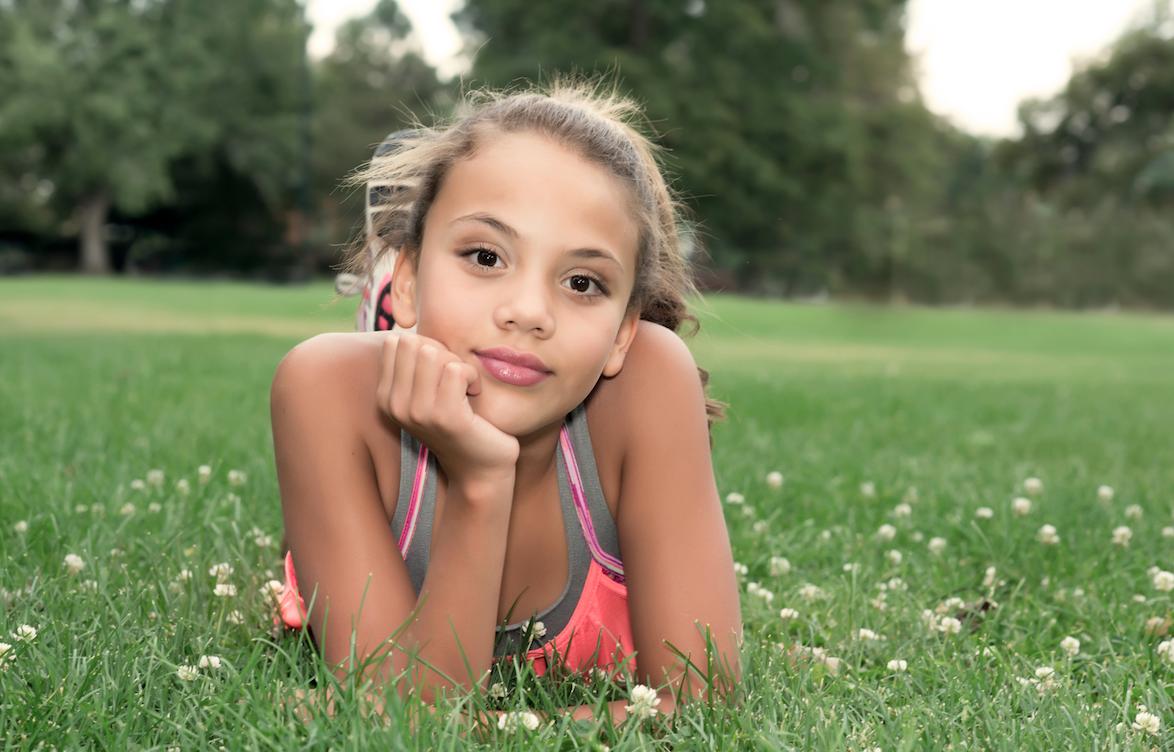 child photography portrait girl