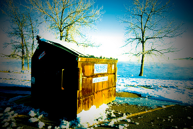 Cherry Creek State Park trash