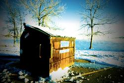 Cherry Creek State Park trash