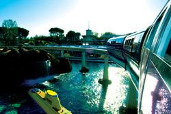 Disneyland, Los Angeles monorail