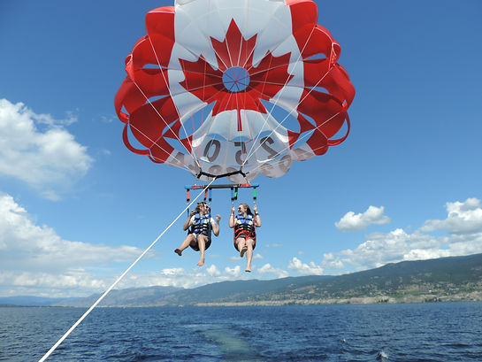 Soaring through the Okanagan skies!