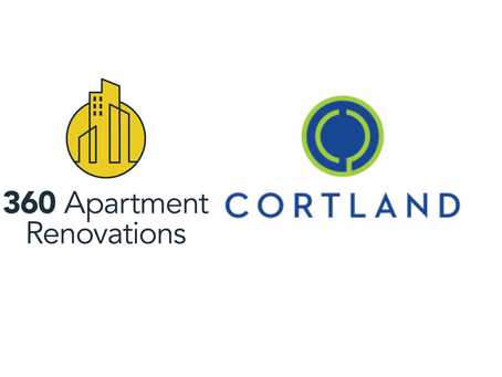 360 Apartment Renovations announces Partnership with Cortland