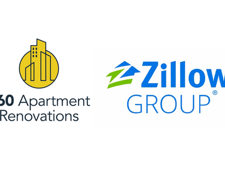 360 Apartment Renovations announces Partnership with Zillow