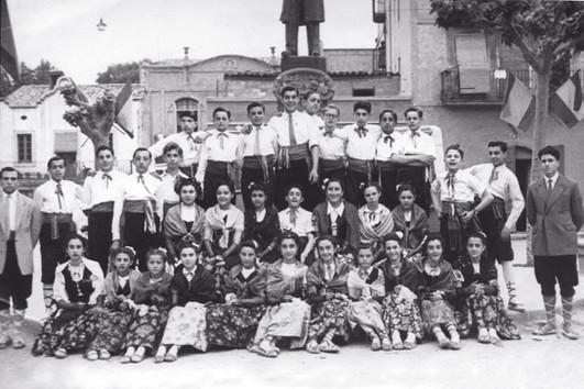 Grup de mitjans de l'Esbart (1949)
