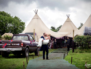 MR & MRS SEED - Teepee Tent Hire