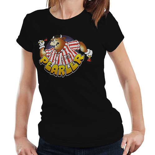 Pearler Tidy Darts T Shirt Ladies