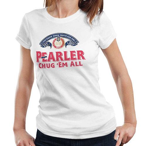 Pearler Peroni T Shirt Ladies
