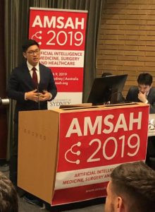 Harrison.ai's Dr Aengus Tran is presenting at AMSAH 2019