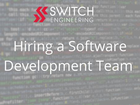 Hiring a Software Development Team