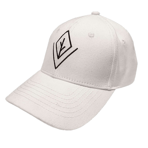 Origin White Baseball Cap