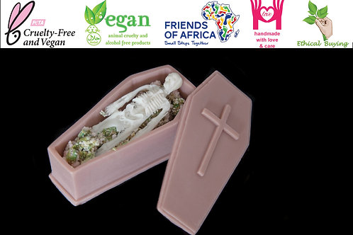 Coffin and Skeleton Scented Soap