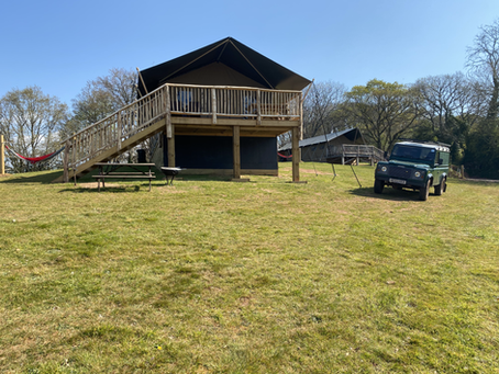 2021 Updates at Exe Valley Glamping