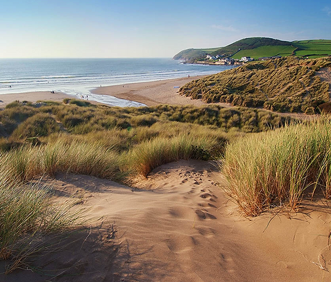 North Devon Beaches at Exe Valley Glamping