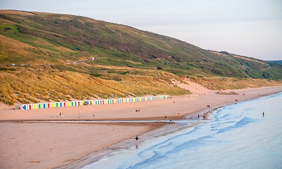 Saunton Sands in Exe Valley Glamping