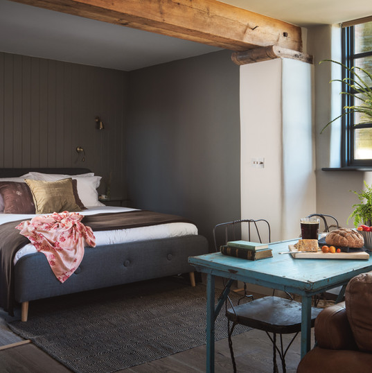 Redbrick Studio bedroom
