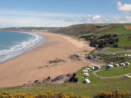 Beautiful Beaches in North Devon and East Devon