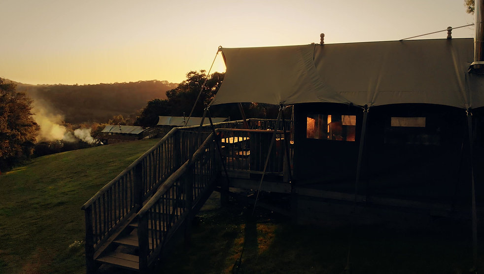Exe Valley Glamping showreel