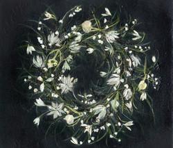 monotone-wreath
