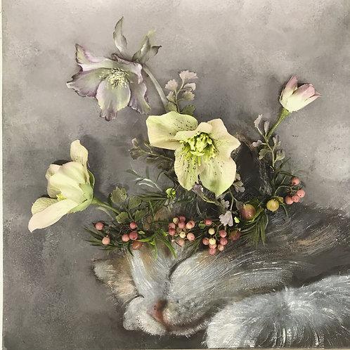 子猫と花冠