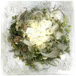 rose in nest