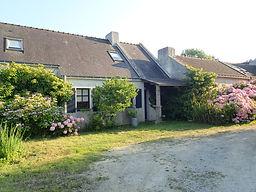 Vue exterieur - Maison de Kerguénolé - location Belle ile en Mer, Bretagne, France