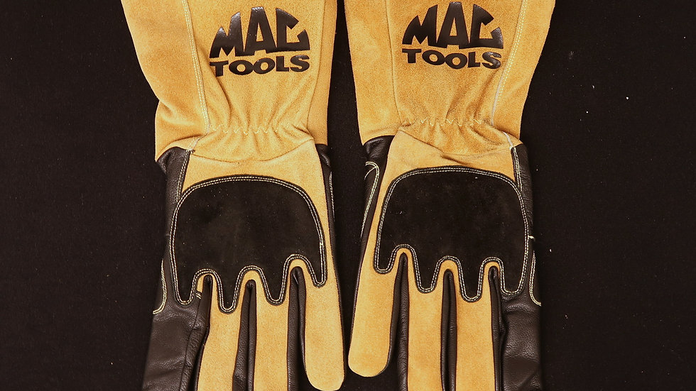 TIG MAC Tools Welding Gloves Brown and Black One Pair XXL