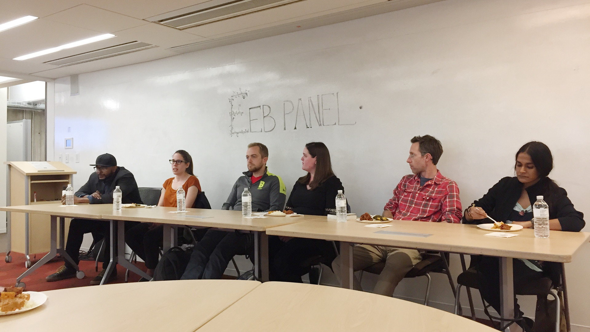 At the Graduate/Career Advice Panel, graduate students, postdoctoral students, and professors offer advice to undergraduate students about careers in EEB and applying to graduate school