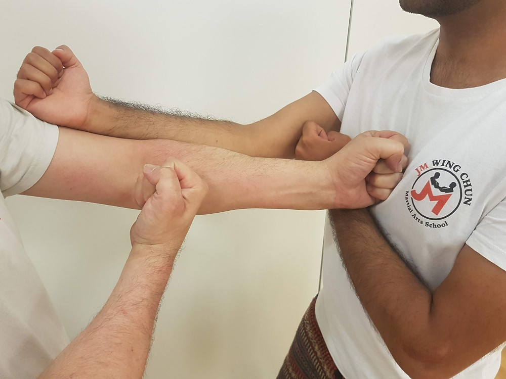 Wing Chun Elbow Out Punch