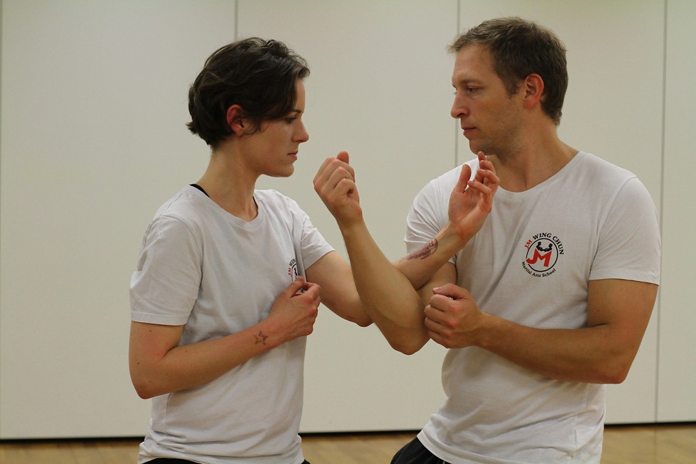 Instructor and Student - Wing Chun London